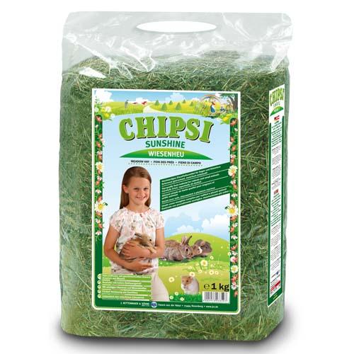 JRS Chipsi Sunshine széna 1kg