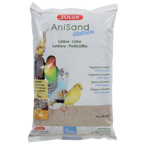 ZOLUX ANISAND SAND NATURE 5kg madárhomok ánizzsal