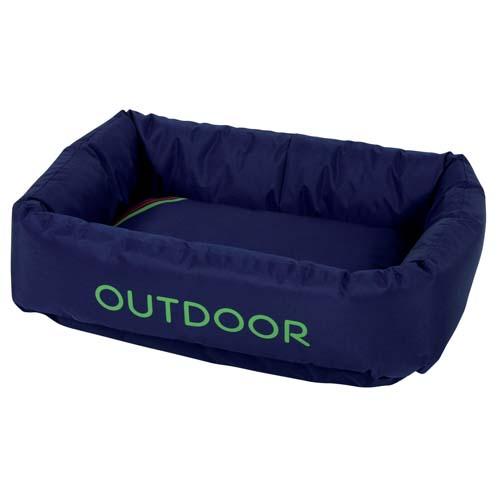 ZOLUX OUTDOOR fekhely kutyáknak vízlepergető, kék  65x46x20cm