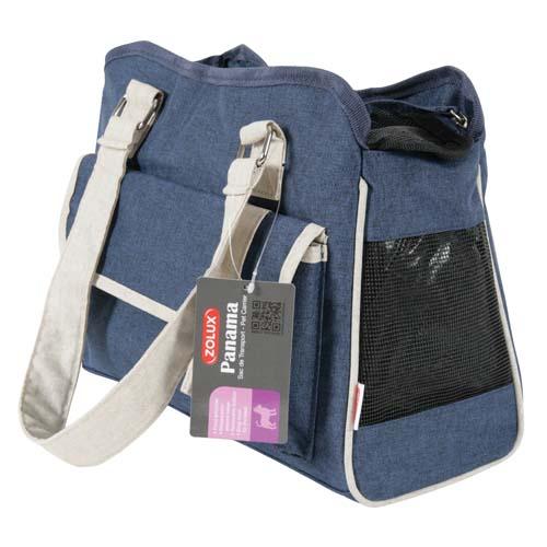 ZOLUX PANAMA kutyahordozó táska kék Small  35x15x26cm