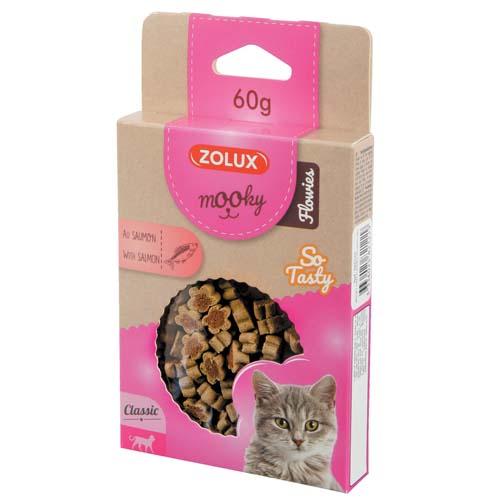 ZOLUX MOOKY CAT FLOWIES lazacos 60g cica csemege