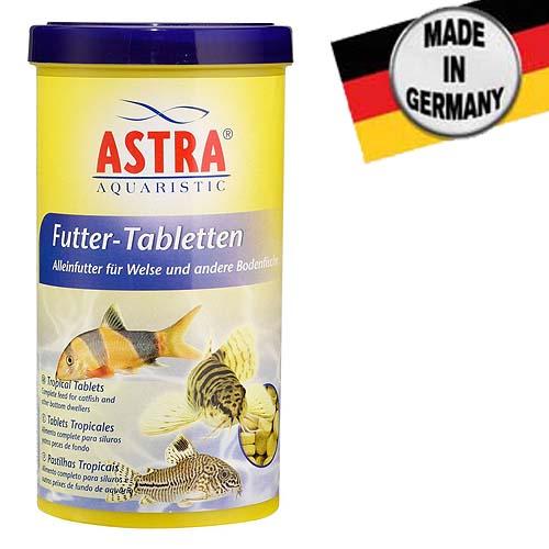 ASTRA FUTTER TABLETTEN  250 ml / 675 tbl. / 160 g akvárium üvegére tapadó táptabletta