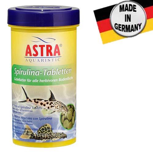 ASTRA SPIRULINA TABLETTEN 250 ml / 675 tbl. / 160 g tablettázot táp szpirulinával