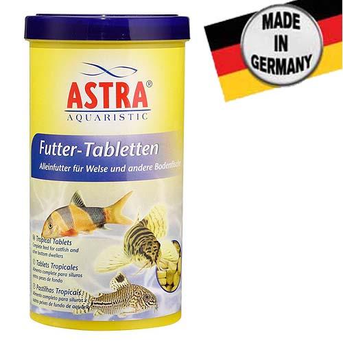 ASTRA FUTTER TABLETTEN  100 ml / 65 g / 270 tbl. akvárium üvegére tapadó táptabletta