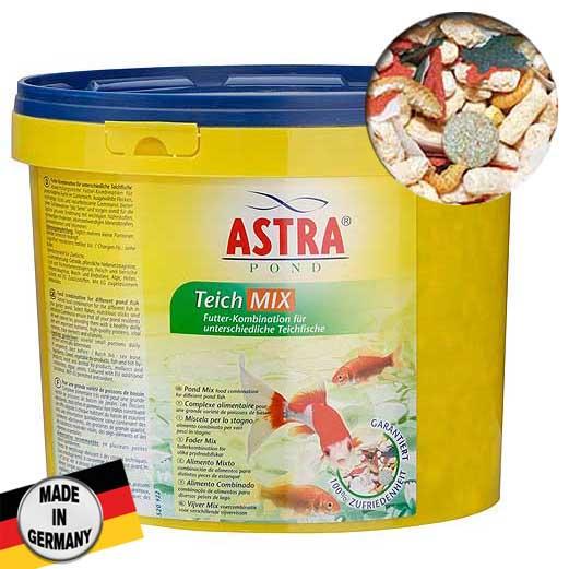 ASTRA TEICH MIX  5 l kombinált táp különféle kertitavas halak számára