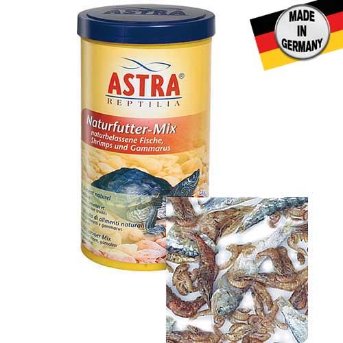 ASTRA NATURFUTTER-MIX 1.000 ml természetes szárított tápkeverék vízi és szárazföldi teknősöknek