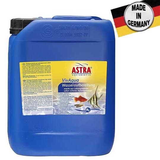 ASTRA VIVAQUA 5 l / 20.000 l a csapvizet azonnal természetes élettérré alakítja