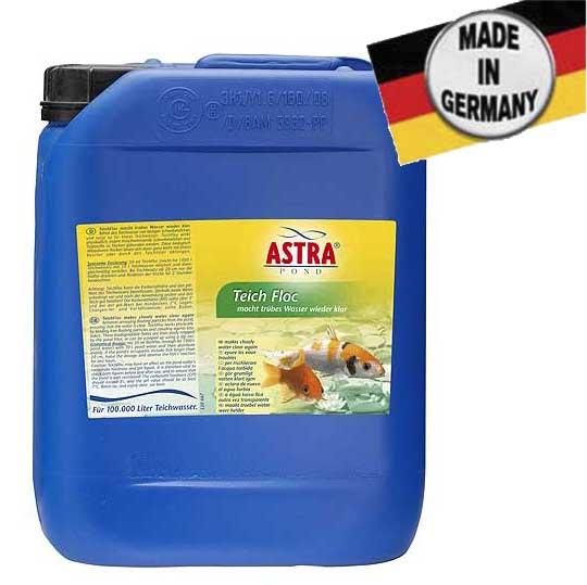 """ASTRA TEICHFLOC 5.000 ml / 100.000 l tiszta vizet biztosít a kertitóban """"pelyhesítő"""""""