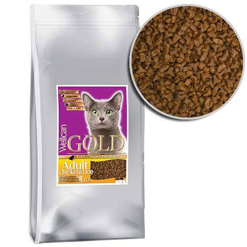 WELLCAN GOLD CAT ADULT 32/18 10kg speciális formula felnőtt macskáknak