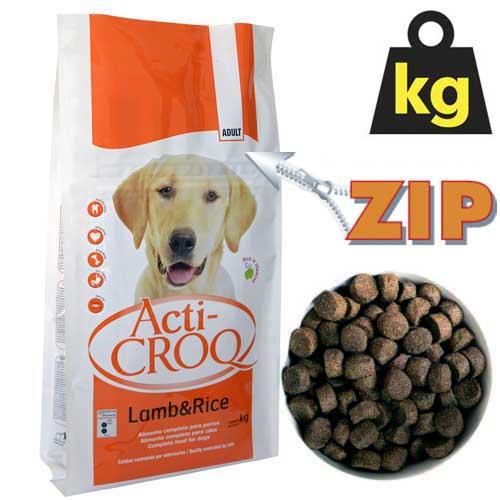 ACTI-CROQ LAMB&RICE 26/12   4kg speciális táp érzékeny kutyáknak bárány rizzsel