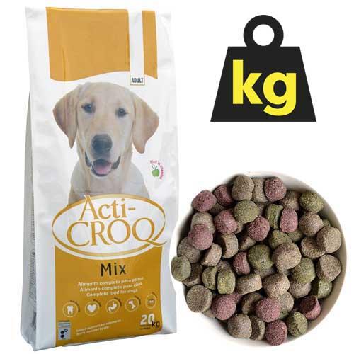 ACTI-CROQ MIX  24/11  20kg teljesértékű színes kutyatáp felnőtt kutyák számára