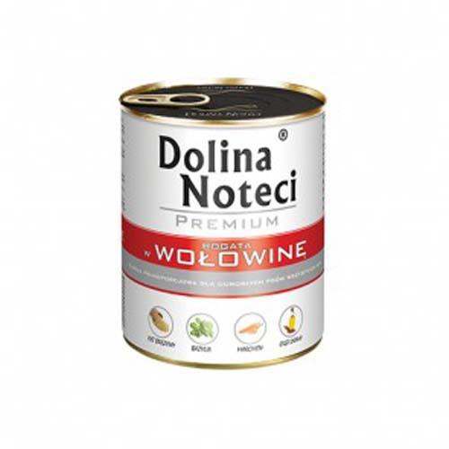DOLINA NOTECI PREMIUM 800g konzerv kutyáknak marhahússal