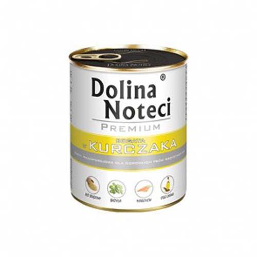 DOLINA NOTECI PREMIUM  800g konzerv kutyáknak baromfival
