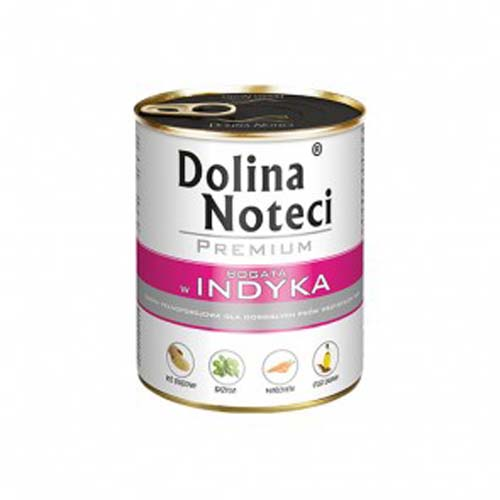 DOLINA NOTECI PREMIUM 800g konzerv kutyáknak pulykahússal