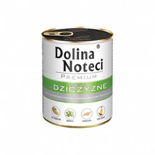 DOLINA NOTECI PREMIUM 800g konzerv kutyáknak vadhússal