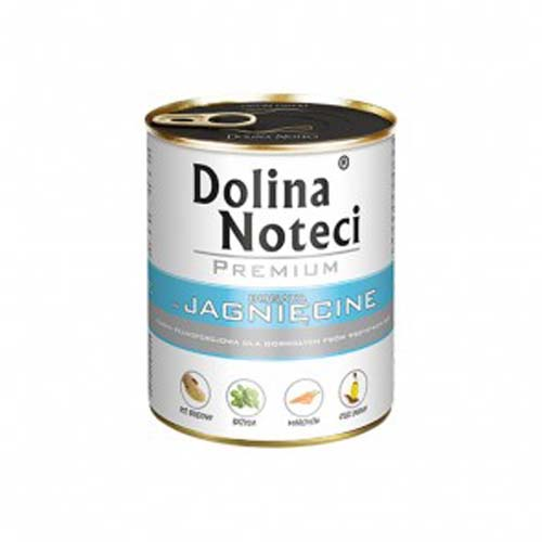 DOLINA NOTECI PREMIUM 800g konzerv kutyáknak bárányhússal
