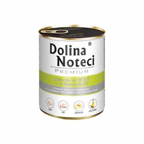 DOLINA NOTECI PREMIUM 800g konzerv kutyáknak liba burgonyával