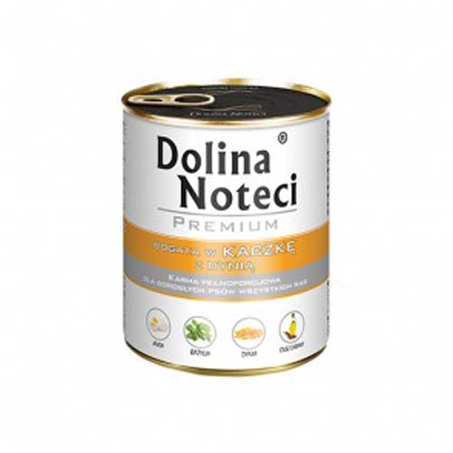 DOLINA NOTECI PREMIUM 800g konzerv kutyáknak kacsa tökkel