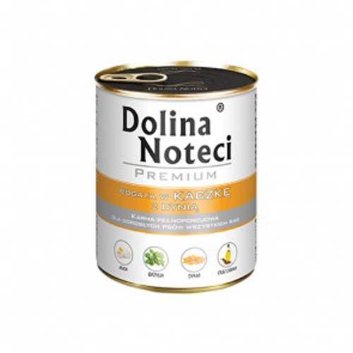 DOLINA NOTECI PREMIUM 800g konzerv kutyáknak kacsahús tökkel
