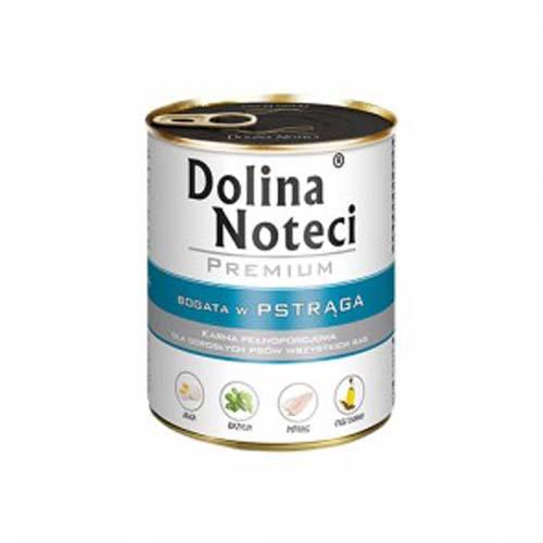 DOLINA NOTECI PREMIUM 800g konzerv kutyáknak lazaccal