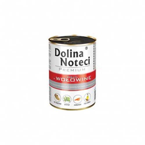 DOLINA NOTECI PREMIUM 400g konzerv kutyáknak marhahússal