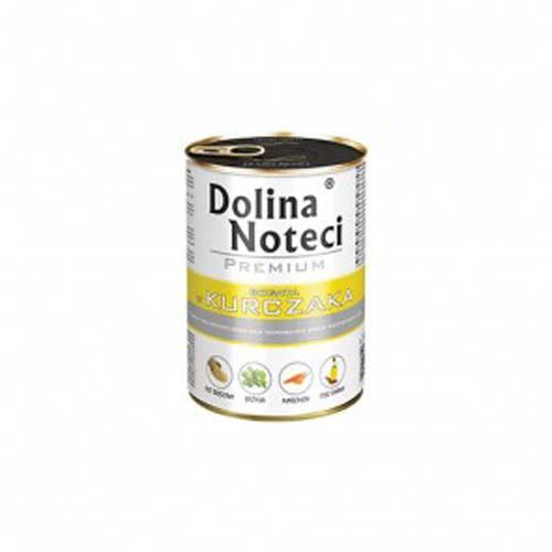 DOLINA NOTECI PREMIUM  400g konzerv kutyáknak baromfival