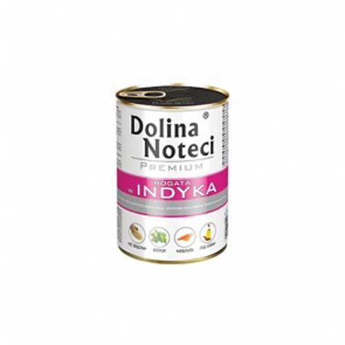 DOLINA NOTECI PREMIUM 400g konzerv kutyáknak pulykahússal