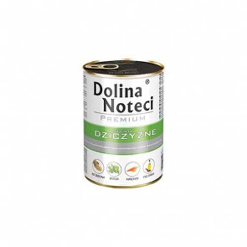 DOLINA NOTECI PREMIUM 400g konzerv kutyáknak vadhússal