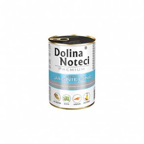 DOLINA NOTECI PREMIUM 400g konzerv kutyáknak báránnyal