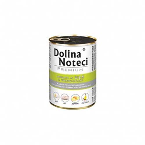 DOLINA NOTECI PREMIUM 400g konzerv kutyáknak liba burgonyával