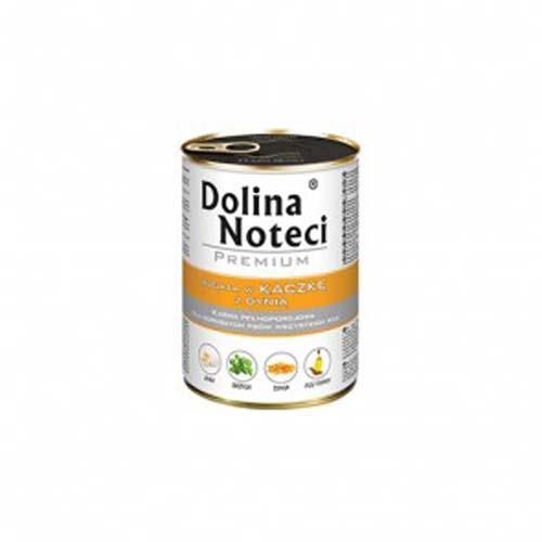 DOLINA NOTECI PREMIUM 400g konzerv kutyáknak kacsa tökkel