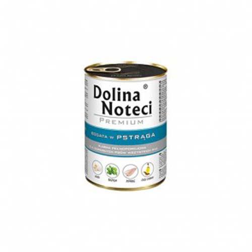 DOLINA NOTECI PREMIUM 400g konzerv kutyáknak lazaccal