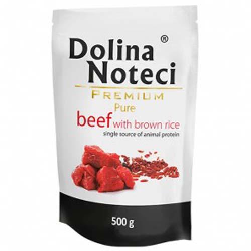 DOLINA NOTECI PREMIUM PURE - marhahús barna rizzsel 500g