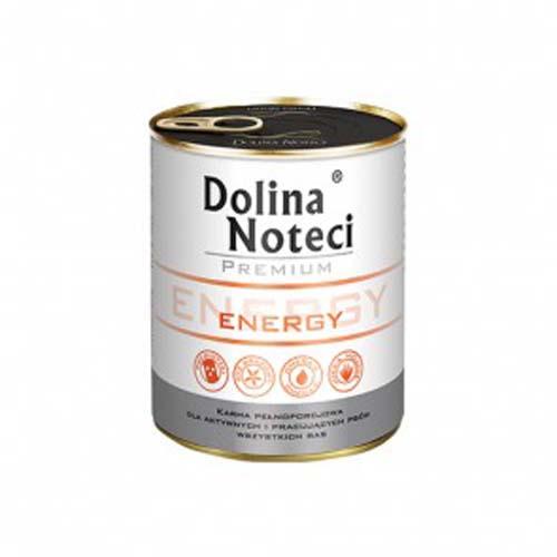 DOLINA NOTECI PREMIUM ENERGY 800g konzerv aktív kutyáknak