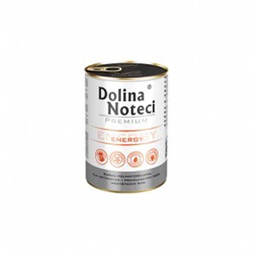 DOLINA NOTECI PREMIUM ENERGY 400g konzerv aktív kutyáknak
