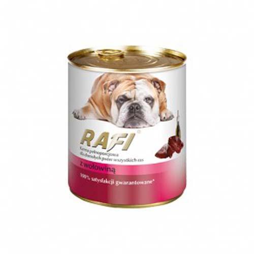 RAFI ADULT DOG Paté marhahússal 800g