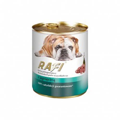 RAFI ADULT DOG Paté bárányhússal 800g