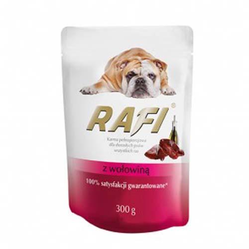 RAFI ADULT DOG Paté marhahússal 300g