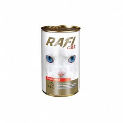RAFI CAT ADULT 415g marhahúsos falatkák mártásban