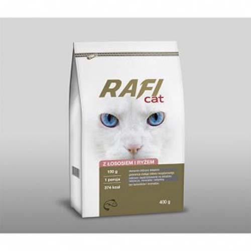 RAFI CAT ADULT lazac és rizs 400g száraz macskatáp