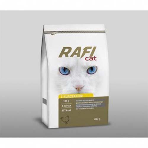 RAFI CAT ADULT csirke 400g száraz macskatáp