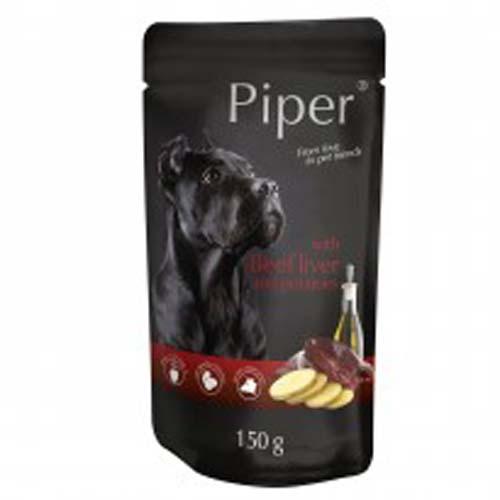 PIPER ADULT 150g alutasak kutyáknak marhamájjal és burgonyával