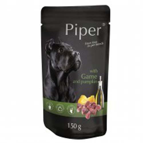 PIPER ADULT 150g alutasak kutyáknak vadas és tök