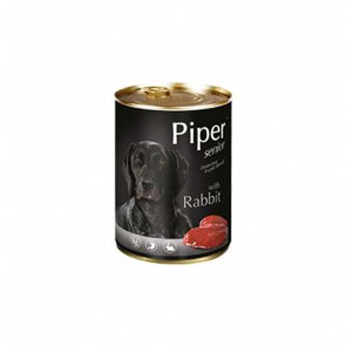 PIPER SENIOR nyúl 400g konzerv szenior kutyáknak