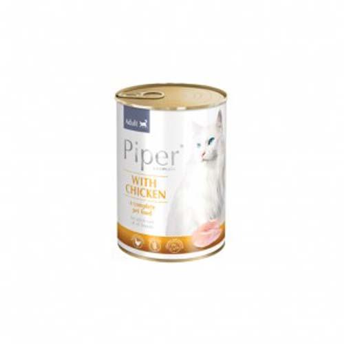 PIPER CAT csirkehús  400g konzerv macskáknak