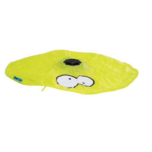 EBI COOCKOO HIDE INTERACTIVE CAT TOY, LIME