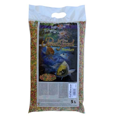 COBBYS PET POND STICKS COLOUR  5l (0,5kg)taška