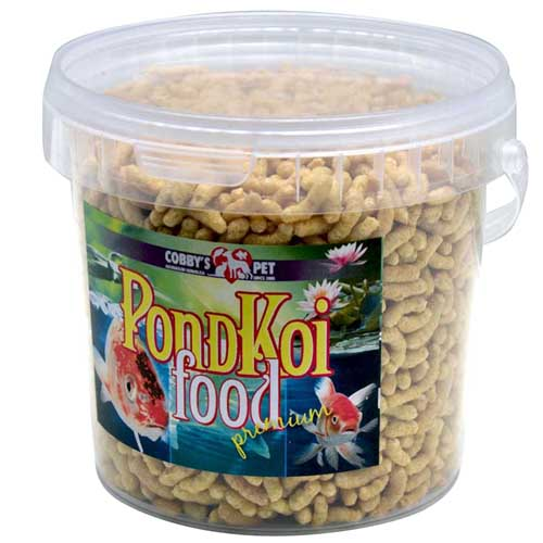COBBYS PET POND STICKS NATUR  1l vedro (0,95kg)