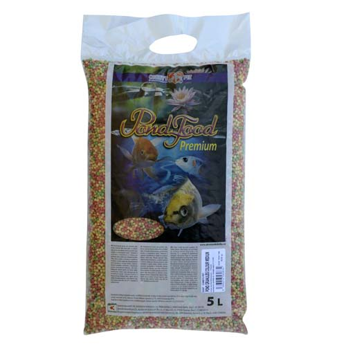 COBBYS PET POND GRANULES COLOUR  MEDIUM  5 l (0,75kg) taška