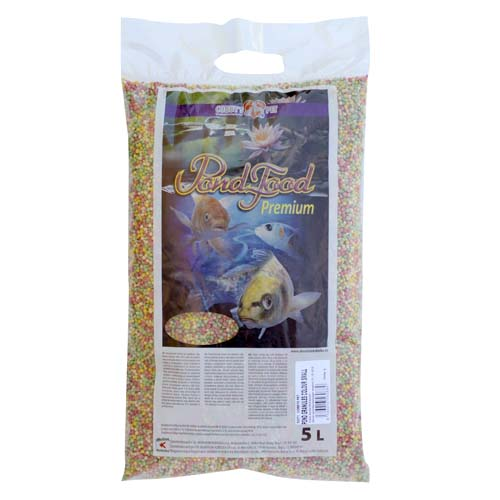 COBBYS PET POND GRANULES COLOUR   SMALL 5 l  (0,75kg) taška